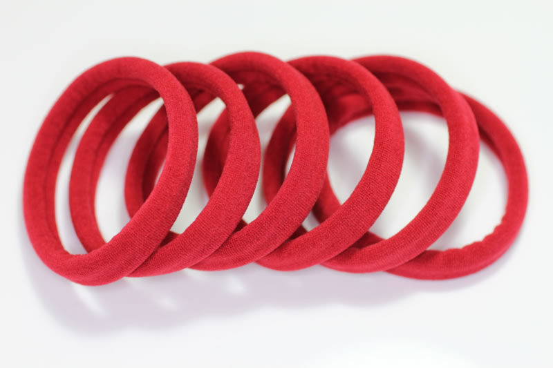 Extra Strong Jersey Elastic x6 - Various Colours