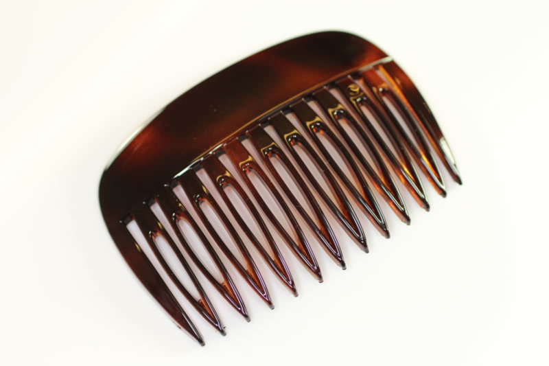 7cm Plain Top Side Comb x2 - Various Finishes