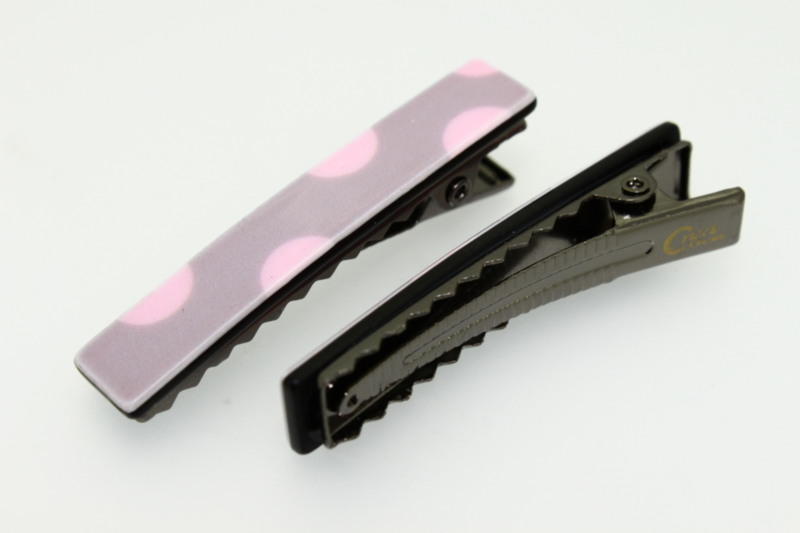 5cm Handmade Croc Clip x2 - Various Finishes