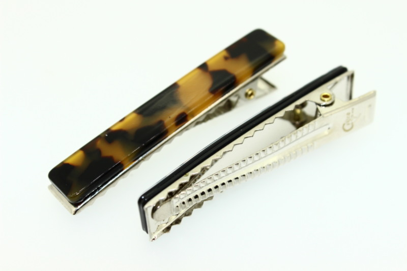 6cm Handmade Croc Clip x2 - Various Finishes