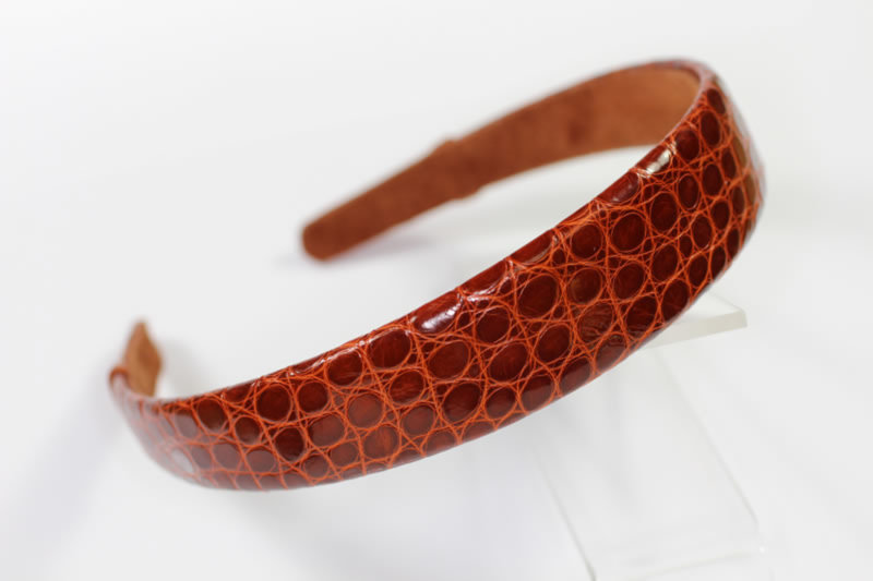 25mm Crocodile Headband - Various Finishes