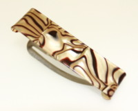 6cm Clic Clic - Handmade - Various Finishes