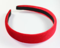 Velvet Headband - 25mm - Various Colours