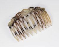 7cm Open Twisted Top Side Comb